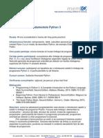 Descriere Curs - Fundamentele Python 3