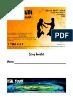 Campers Booklet