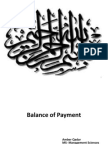 A Presentation on Balance of Payment