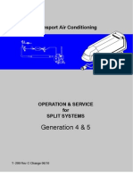 Carrier Transport Air Conditioning Split System Generations 4 & 5 Operation & Service Manual