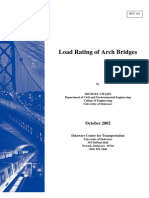 Rpt. 144- Load Rating of Arch Bridges