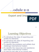Export and Import.ppt