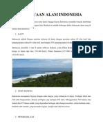 Tulisan Ke-3( Kekayaan Alam Indonesia )
