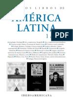 Nuevos Libros de América Latina / 1-2013