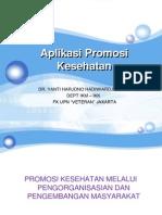 Aplikasi Promosi Kesehatan