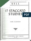 Kell 17 Staccato Studies