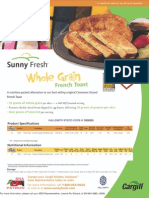 Sunny Fresh French Toast Cargill