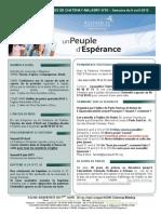 Bulletin d'annonces N°53bis semaine du 6 avril 2013