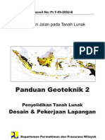PANDUAN GEOTEKNIC