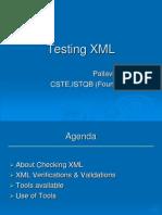 x Ml Testing