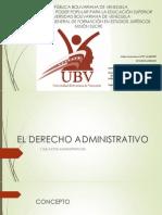El Derecho Administrativo Presentacion
