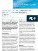 How PRINCE2 Can Complement PMBOK and PMP