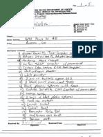 James Holmes Apartment Evidence