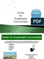 Center for Sustainable Communities by Garry Harris