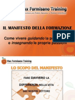 Manifesto Della Formazione parte 1
