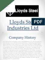 Lloyds Steel Industries Ltd