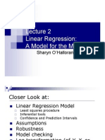 Basic Linear Regression