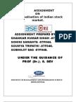 Demutualisation of Indian Stock Exchange