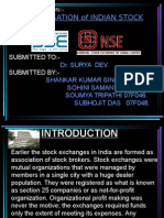 Presentation on Demutualisation of Indian Stock Exchange