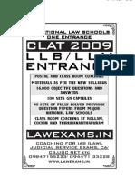 LEGAL APTITUDE FOR CLAT CLAT CLAT CLAT2010 LLB LLM ENTRANCE   www.lawexams.in