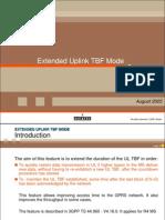 Extended UL TBF Mode Ed5