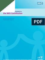 NHS Constitution PublicHealthSupp