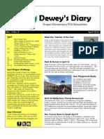 April 2013 PTA Newsletter