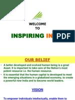 Inspiring India Presentation