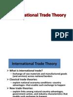 1 Trade Theory