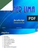 JavaScript - (01) Introdução ao JavaScript