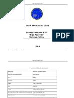 Plan de Accion Pocoyan 2012