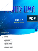 HTML5 - (03) Modelos de Conteúdo
