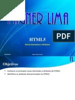 HTML5 - (04) Novos Elementos e Atributos