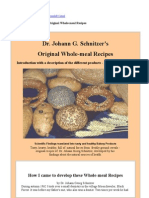 Dr. Johann G. Schnitzer'S_Original Whole-Meal Recipes
