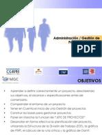 Administracion - Gestion Proyectos