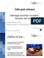 Clase 2 -Chile Pais Minero