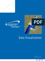 Data Visualization Blue Paper by promotional products retailer 4imprint