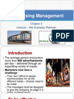 Chapter 5 - Advertising Management