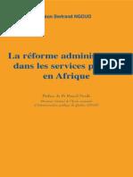 La réforme administrative dans les services publics en Afrique - Léon Bertrand Ngouo