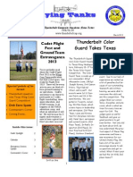 McKinney Texas Civil Air Patrol  Thunderbolt Squadron March Newsletter.