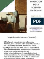 Invencion de La Soledad Paul Auster Libros de La Memoria