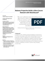 Maloney Properties Builds a More Secure Network with WatchGuard®