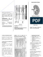 Folleto Insuficiencia Renal