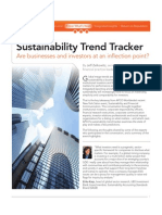 Sustainability Trend Tracker :