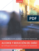 Libro Icahre Alcohol Reduccion