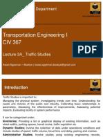 3A Traffic Studies