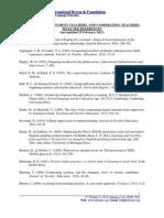 PracticumStudentTeachersCooperatingTeachers_SelectedReferences_25February2013