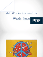 Art Works Inspired by World Peace