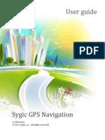 Sygic 13.1.0 User Manual