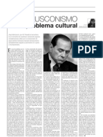 Voces Berlusconismo Como Problema Cultural
